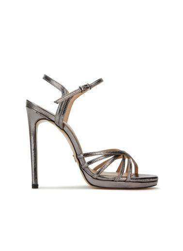 Divarese Divarese 5025195 Topuklu Kadın Sandalet Gri